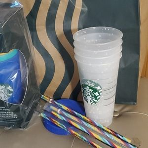 Other - Starbucks confetti color changing cups